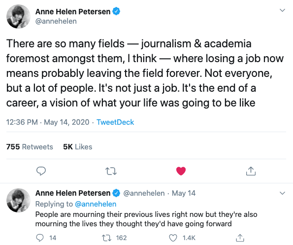 Anne Helen Petersen Tweet
