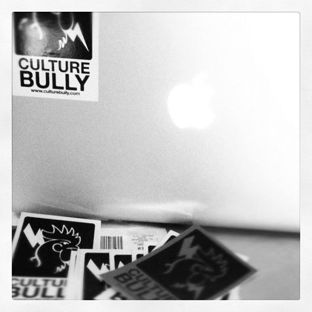 Culture Bully Stickers