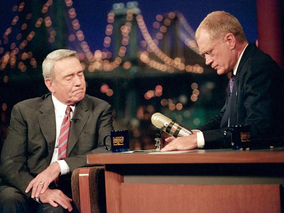 Letterman Dan Rather 911