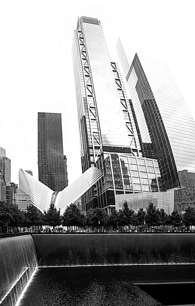 New York City Oculus Black White