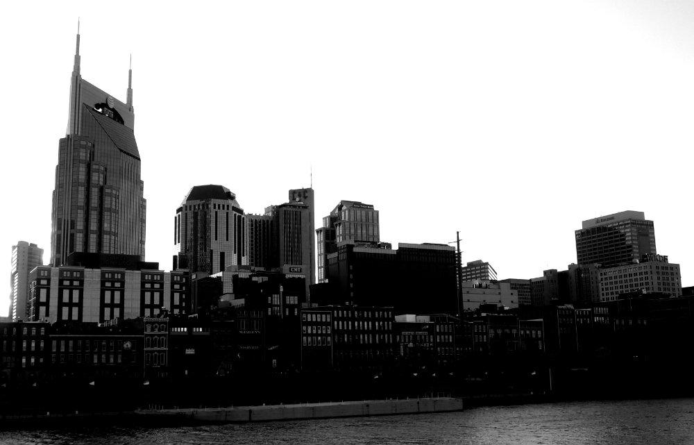 Nashville Downtown Skyline