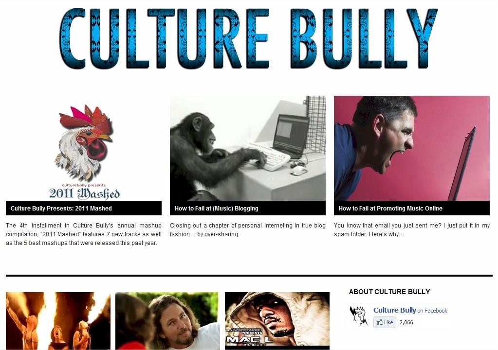 Culture Bully Website