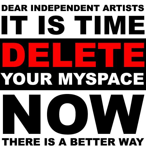 Delete MySpace