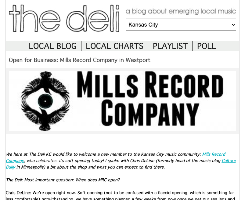 Deli Interview