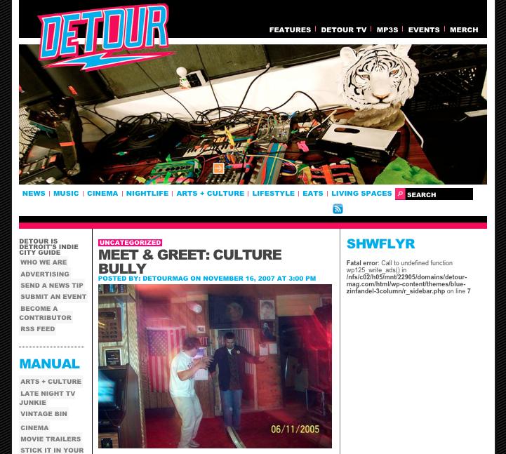 Detour Magazine Interview