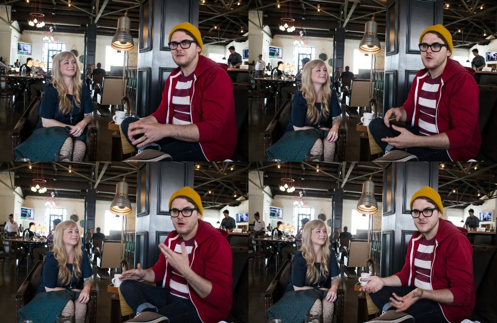 Jared and Kristyn Corder of *repeat repeat