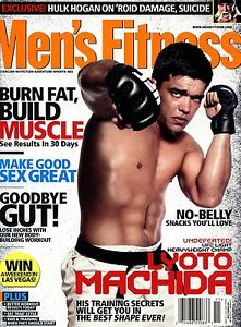 Lyoto Machida Mens Fitness UFC MMA