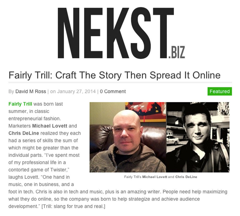 Nekst Interview