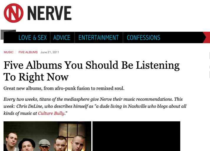 Nerve Website Blog
