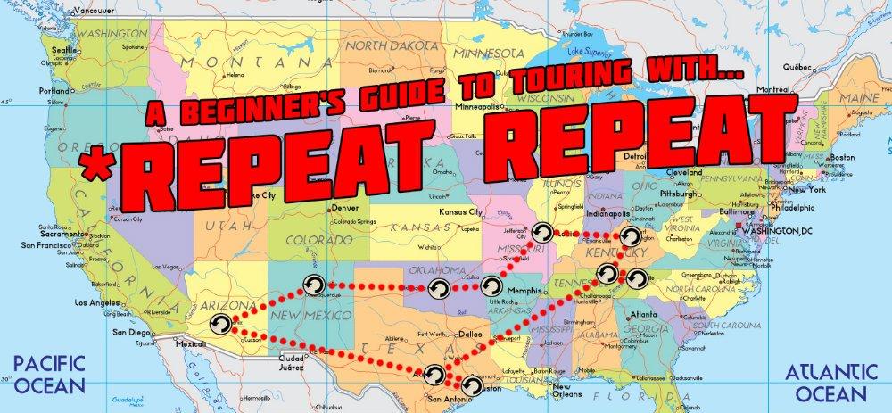 Repeat Repeat Band Tour