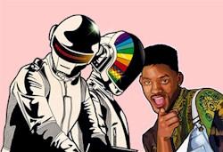 Daft Punk Fresh Prince Mashup