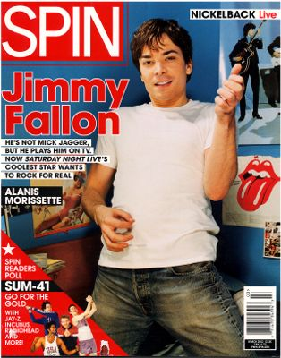Spin Magazine Jimmy Fallon