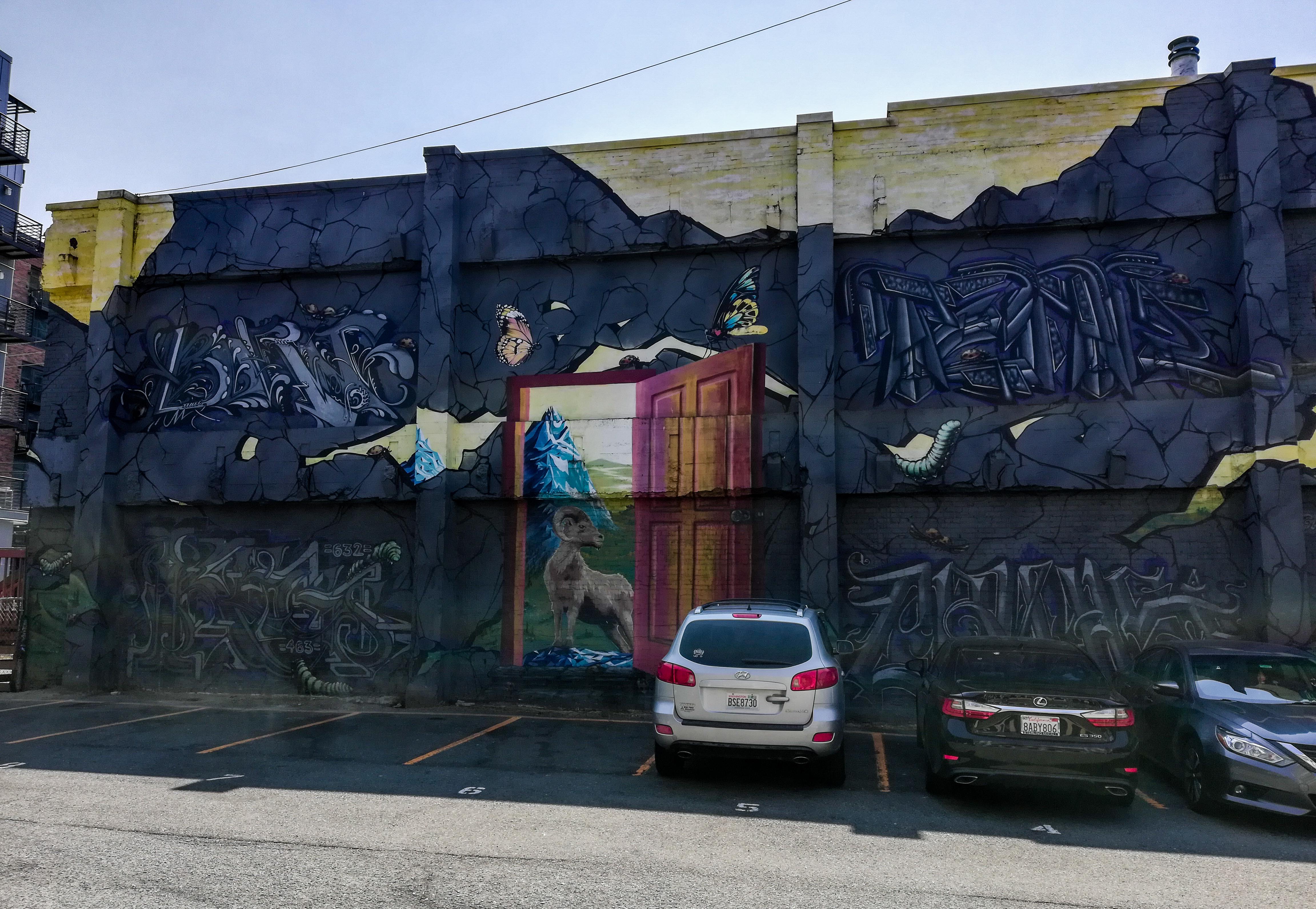 Broadway Mural Seattle